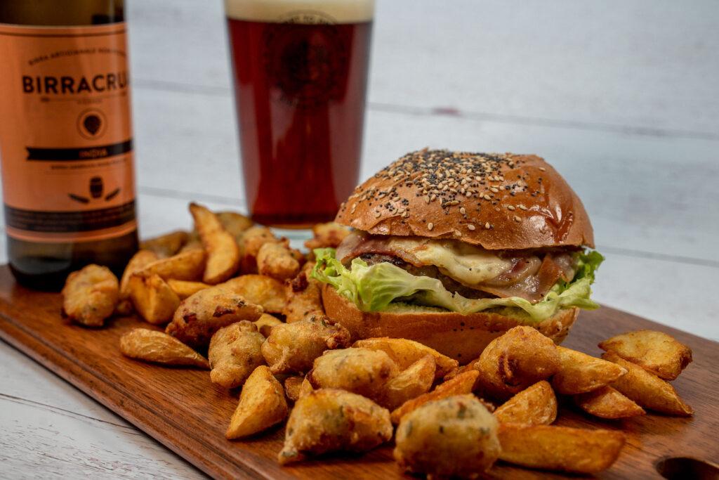 Birracrua Delivery: birra artigianale, burgers e pizza
