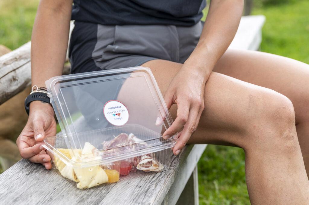Giro delle Malghe ed Ecozema: green packaging